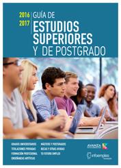 Guia de estudios superiores y de postgrado
