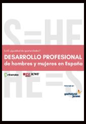 Informe de desarrollo profesional hombres y mujeres en España