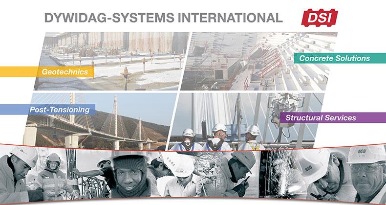 Dywidag-Systems International DSI.